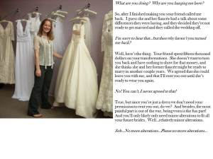Wedding alterations 2