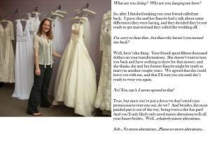 Wedding alterations 2