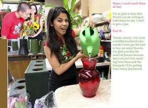 bf to vase