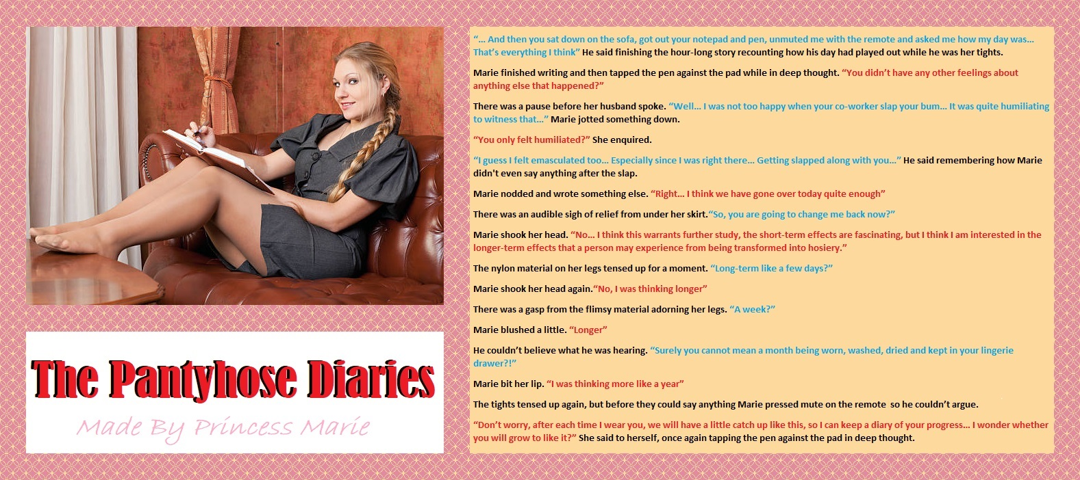 The Pantyhose Diaries